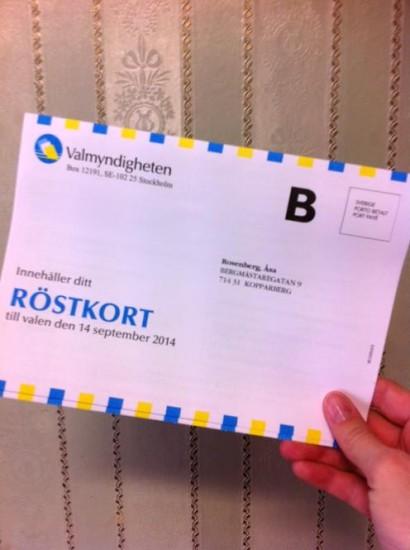 röstkort